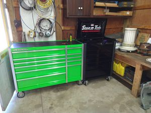 Like new black snap on tool box 1000$ cash firm for Sale in Medina, OH