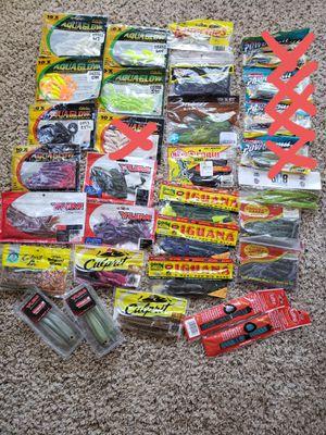 NEW Plastic Fishing Baits NEW for Sale in Scottsdale, AZ