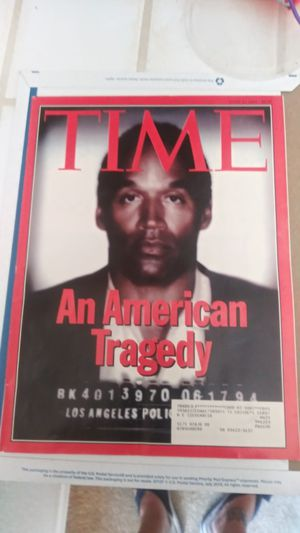 Time magazine's on OJ Simpson for Sale in Atascadero, CA