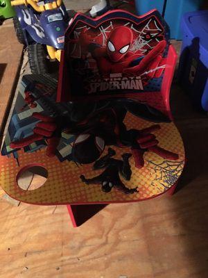 Spider-Man kids desk for Sale in Rushville, OH