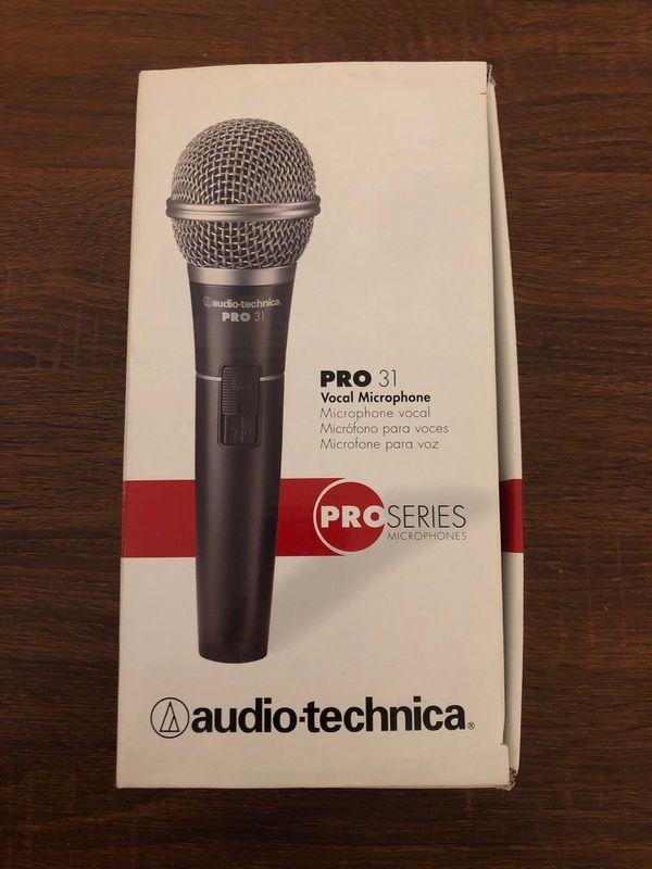 Audio-technica pro 31 vocal mic