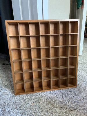 Wooden shot glass collection display for Sale in Austin, TX