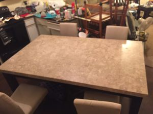 Marble top dining table for Sale in Owasso, OK