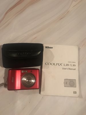 Nikon Coolpix camera L18/L19 for Sale in East Point, GA