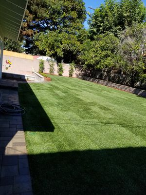 Sod installed and sprinkler for Sale in Anaheim, CA
