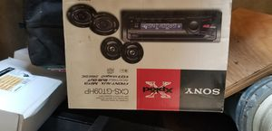 Brand new Sony Xplod car stereo system complete for Sale in Stockton, CA