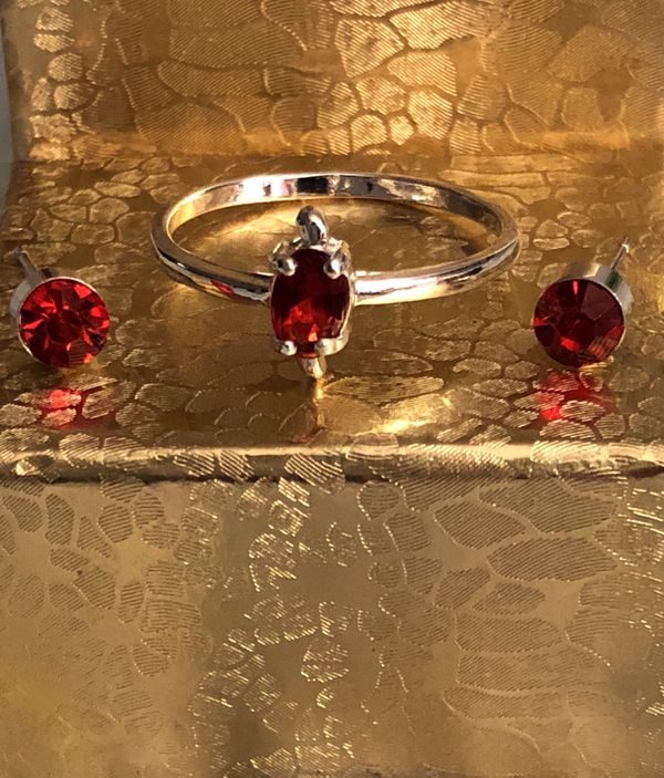.925 Silver Ring & Earrings Sets & Separates