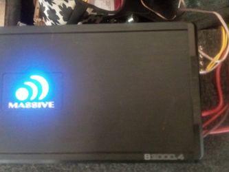 AMP MASSIVE 2000w 4ch for Sale in Brandon,  FL