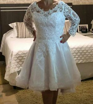 Wedding dress 12/14 adjustable Brazilian style Brand knew for Sale in Revere, MA