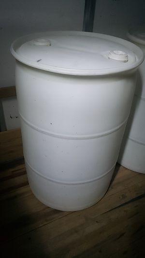 Plastic drum 55 Gallons for Sale in Pompano Beach, FL