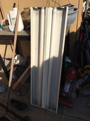 4' Fluorescent Hanging Light Fixture for Sale in Turlock, CA