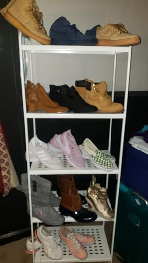 Various brands of boots and sneakers for Sale in Fairburn, GA