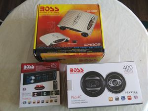 Boss Audio System for Sale in Exeter, CA