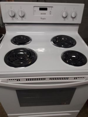 GE BRAND NEW electric stove 12 MONTHS WARRANTY available for pick up or deliver for Sale in Halethorpe, MD