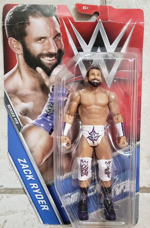 New WWE Zack Ryder Action Figure. for Sale in Apopka, FL