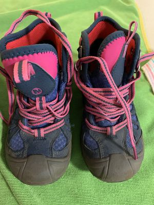 Little Girls size 12 Merrell hiking boots for Sale in Hillsboro, OR