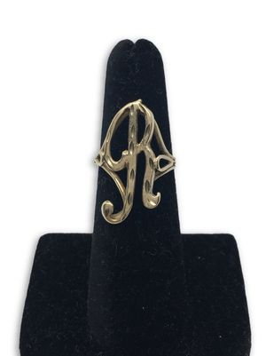 14k R Ring for Sale in Alexandria, VA