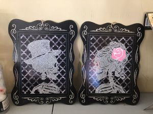 Halloween picture frames both for $15 for Sale in Sierra Madre, CA