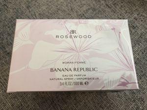 Brand New Women's Banana Republic Perfume - Rosewood - 3.4 Oz 100 mL for Sale in Dallas, TX