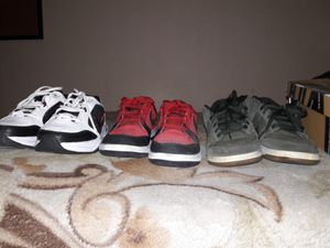 3 Pairs of Nike Shoes for Sale in Las Vegas, NV