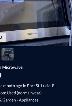 URGENT ..... To The Couple That Bought My 2 Appliances for Sale in Port St. Lucie,  FL
