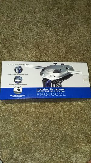 Protocol Motorized Tie Carousel for Sale in Irving, TX