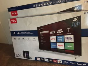 New 50 inch TV for Sale in Fresno, CA