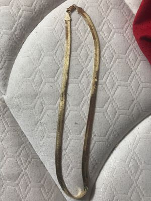 14k gold plated chain for Sale in Carrollton, TX