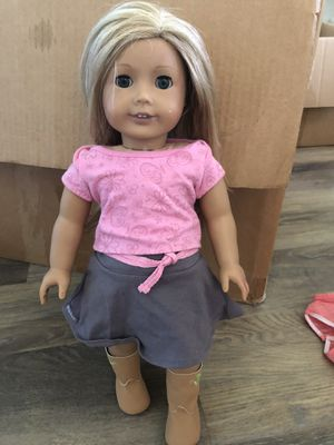 american girl doll, blonde hair, and blue eyes for Sale in Phoenix, AZ
