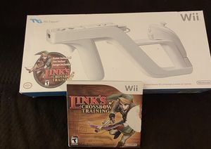 Wii Zapper and Links crossbow training game for Sale in Cumming, GA