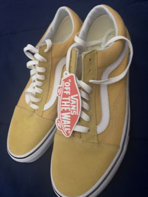 Yellow Vans Size 10 new for Sale in Pawtucket, RI
