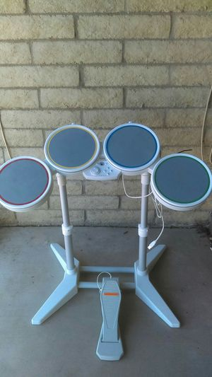 White Rock Band drums with foot pedal for Sale in Phoenix, AZ