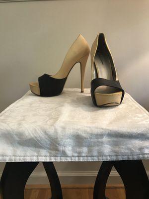 Beige and Black Platform Heels for Sale in Takoma Park, MD