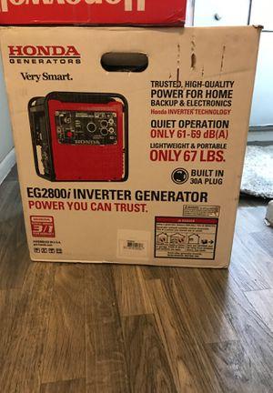 Honda generator brand new for Sale in Edgewater, CO