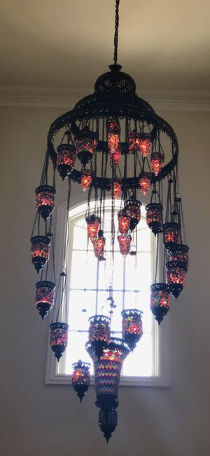 Moroccan chandelier for Sale in Rancho Cucamonga, CA