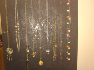 Long costume jewelry necklaces for Sale in San Antonio, TX