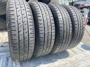 4 used 175/65/15 continental conti pro contact tires for Sale in Philadelphia, PA