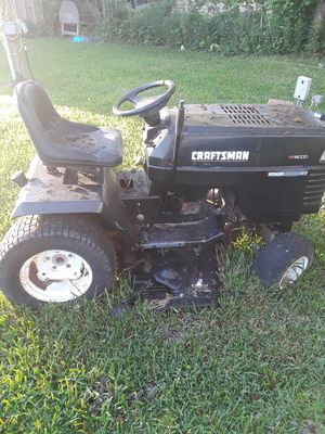 Craftsman riding lawn mower for Sale in OLD RVR-WNFRE, TX