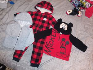$15 for all baby boy clothes 6/9 & 12 for Sale in South El Monte, CA