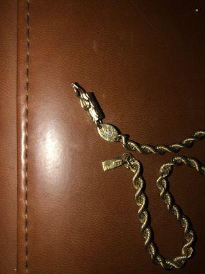 Gold bracelet w/ small diamond silver charm bracelet assorted damaged jewelry for Sale in Fort Lauderdale, FL