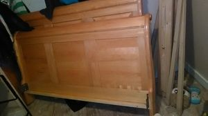 Full size sleigh bed frame for Sale in Farmington, NH