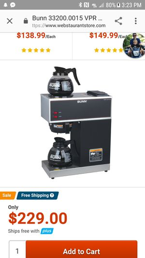 Commercial coffee maker for Sale in Sunbury, PA