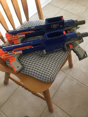 Pr. of Nerf guns for Sale in Hastings, MN