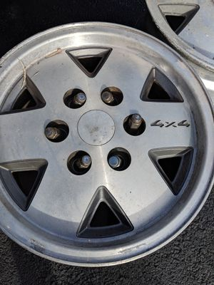 16'' Chev Rims 6 Bolts for Sale in Westminster, MD