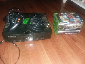 Original xbox with 12 games for Sale in Bandy, VA