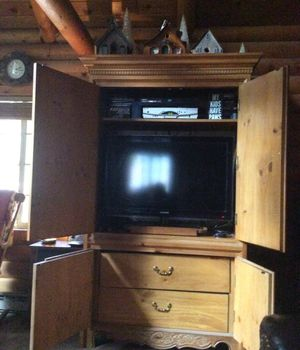 Pine Armoire for Sale in Leavenworth, WA
