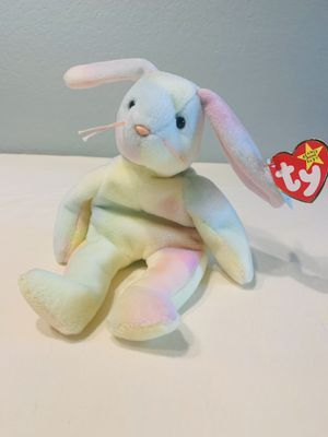 """""""Hippie"""" the Tie-Dyed Bunny Rabbit TY Beanie Baby 1998 Retired for Sale in Austin, TX"""