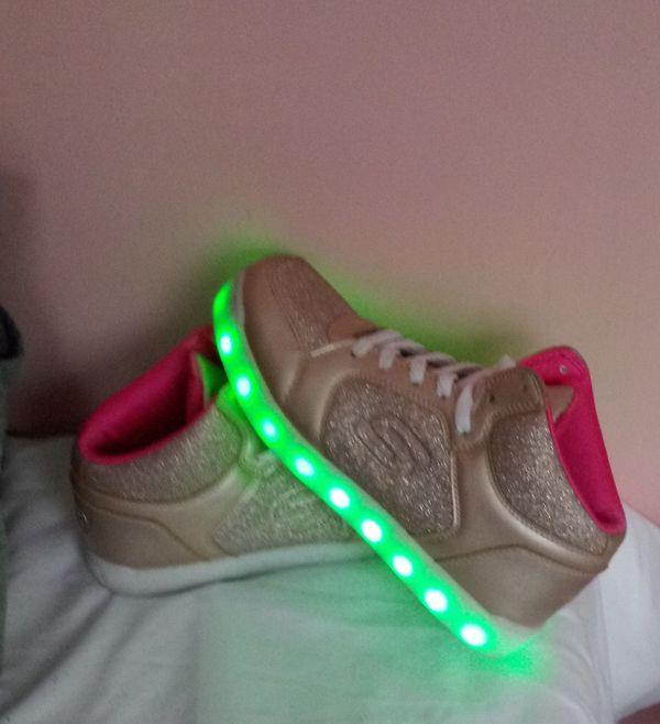 skechers energy lights size 5
