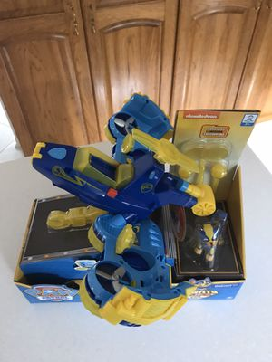 Paw Patrol Transformers Flip & Fly for Sale in Downers Grove, IL