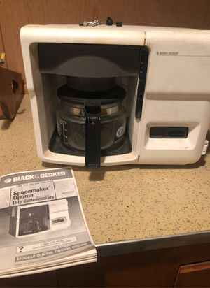 Space maker Coffee maker for Sale in Warwick, RI